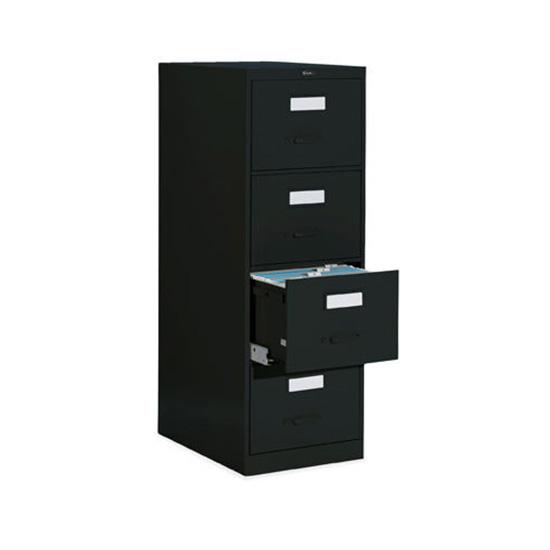 4 Drawer Black Vertical File (Legal)