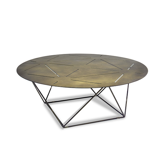 Pentagram Cocktail Table
