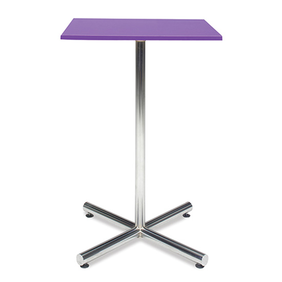 Spectrum Bar Table - Purple